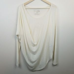 We The Free • Slouchy Oversized Cream Sweater